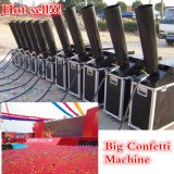 Profesional de CO2 Big Confetti Machine Flight Case Equipo de Embalaje Stage
