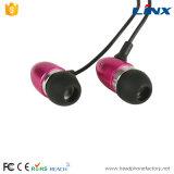 고품질 Lks 상표 소녀를 위한 고전적인 타전된 금속 이어폰