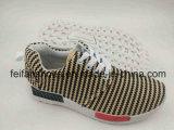 最新のデザインキャンバスの注入の靴、Comfortatbleの足底(FFST-001)が付いている男女兼用のスポーツの靴