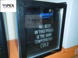 mini frigorifero della barra del portello di vetro 100L per l'hotel