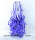 Parrucca accurata di scoppio dei nuovi capelli lunghi alla moda di Cosplay Lolita