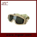 Tactische Militaire Beschermende brillen voor het Ontspruiten van de Jacht Paintball de Beschermende brillen van de Veiligheid