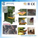Cp90油圧花こう岩のタイルの切手自動販売機