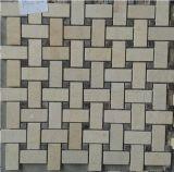 Mosaico Mixed della pietra del marmo di colore di disegno speciale di Materil della costruzione delle mattonelle di Bathrooml (FYSSC335)