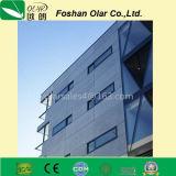 Placa decorativa reforçada fibra aprovada Ce do revestimento do cimento