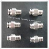 CNC 장비 스테인리스 압축 공기를 넣은 이음쇠 (304, 316)