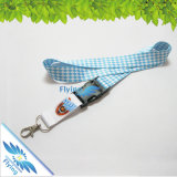 Kundenspezifisches Printed Sublimation Lanyard mit Accessory