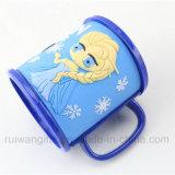 3D Embossed Cartoon Plastic Cup Mug für Kids