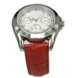 Steel di acciaio inossidabile Watch Argomento Wristwatch per Lady Lw-12b