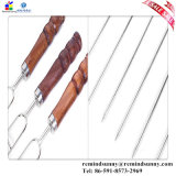 BBQ Tool Home Set con 4PCS Stainless Steel Needle e 3PCS U Fork