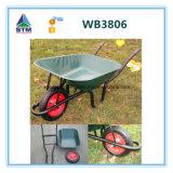 Wheelbarrow Wb3806 da construção do preço de fábrica