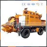 道のプロジェクト作業構築の床のShotcrete機械