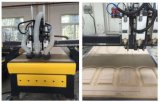 3 Mittellinie CNC ATC Router Machine mit Stepper Motor, 3.7 5.5kw Spindle