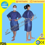 병원 Clothing Patient Gown 또는 Disposable Isolation Gown