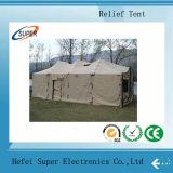 Unfall Relief Tents Are Hand Sewn in China