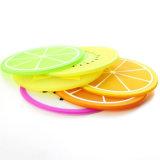 تصميم مبتكر [هت-رسستنت] مستديرة قابل للغسل متحمّل سليكوون فنجان حصيرة بالجملة