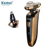 1개의 전기 재충전용 남자의 면도기 & 코털 트리머에 대하여 Kemei362 새로운 2