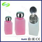 Botella líquida plástica, botella solvente, botella del alcohol del ESD, botella del dispensador (EGS-10)