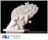 Sculpture personnalisée par statue abstraite moderne découpée par main