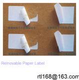 La producción en masa de alimentación puede mover la etiqueta de papel recubierto