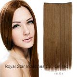 Pinza de pelo recta de la manera en la extensión del pelo