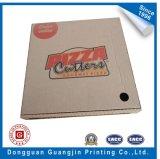 Boîte de empaquetage à pizza rigide de papier ondulé