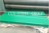 Materiais de aço do telhado/folha colorida da telhadura do ferro ondulado