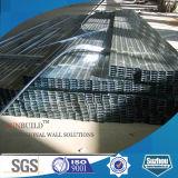 Parafuso prisioneiro e trilha de aço galvanizados para a instalação do Drywall da gipsita