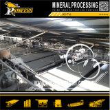 Wolfram Mineral Processing Shaker Gravidade Tungsten Ore tabelas de concentração Agitando