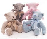Fabrik-Zubehörknit-Strickjacke-Gewebe-Baby-handgemachtes Bären-Spielzeug