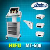 Máquina antienvelhecimento do elevador de face de Hifu da máquina de Hifu da melhor remoção do enrugamento 2016