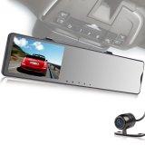 バックミラーのバックアップ眺め完全なHD 1080P車のカメラ