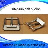 فريدة تصميم 100% تيتانيوم معدن إبزيم لأنّ حزام سير