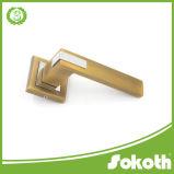Ручка двери оборудования владением алюминиевого окна Роза квадрата открытая