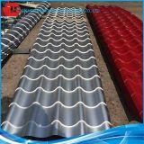 La bobina de aluminio nana llana de la hoja de acero de la capa del aislante de alto calor del terminal de componente galvanizó la hoja de acero del material para techos de la bobina