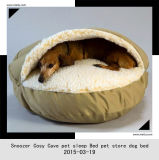 Nouveau lit de luxe d'animal familier d'usine de vente en gros de lit de toc d'animal familier 2015