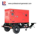 передвижной звукоизоляционный тепловозный генератор 500kw