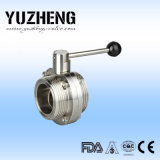 Yuzheng Sanitary Steel Butterfly Valve Manufacturer in Cina