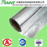 Folha de alumínio dobro isolada enfrentada tecida