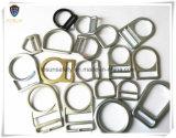 Clip D en métal d'accessoires de harnais de sûreté (H221D)