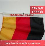 Дешевое высокое качество рекламируя флаг автомобиля ткани знака руки