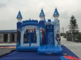 Château plein d'entrain congelé gonflable de la vente 2016 chaude