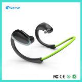 Esportes estereofónicos sem fio de pouco peso que funcionam auriculares dos auscultadores do fone de ouvido de Bluetooth