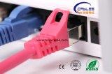 Cuerda de corrección del gato 7 SSTP F/FTP de la alta calidad RJ45 de China (WD1B-009)
