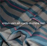 Tela elevada da cópia de matéria têxtil de pano de tabela do Fastness da listra