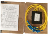 Divisore del PLC del connettore 1*8 del contenitore Sc/Upc di ABS