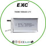 Bateria 2016 do polímero do lítio 2000mAh com 704060