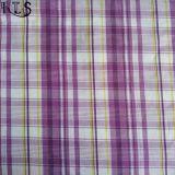 Färbte Baumwollpopelin-gesponnenes Garn 100% Gewebe für Hemden/Kleid Rlsc50-23