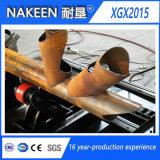 Nakeenからの三軸の鋼鉄管の打抜き機