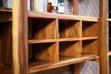 Weinlese-Art-Walnuss-hölzernes Bücherregal für Haus oder Büro (CG-005)